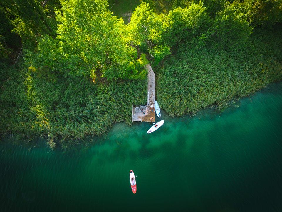 hidden gems Dalmatia - SUP Bacina lakes