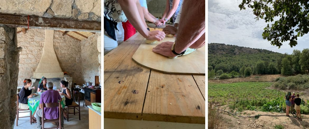 Experiences to try at Ollolai: eat like a local, homemade pasta, the vegetable garden