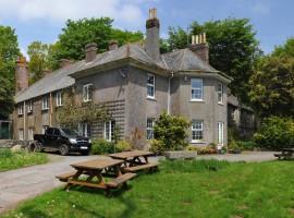 House in Dartmoor National Park. Devon