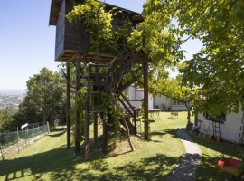 treehouse in abruzzi, to look at the stars
