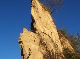 Canyon in Roero
