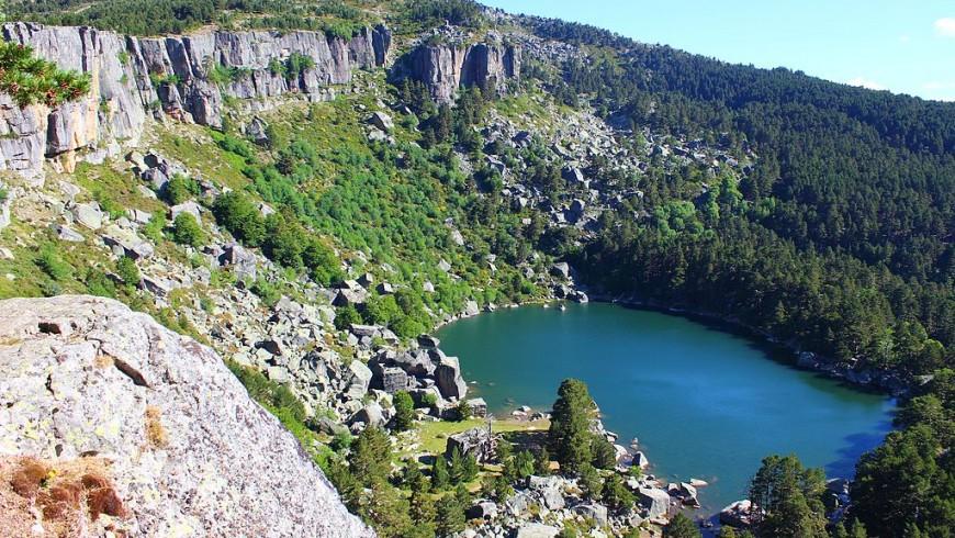 Laguna Negra lake in Bariloche, Argentina