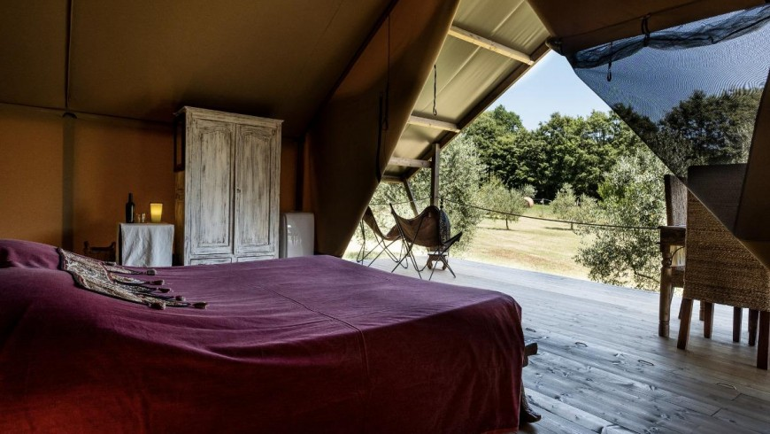 Eco-friendly trip: glamping in tuscany