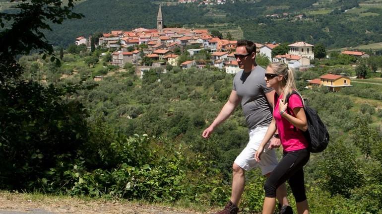 Hiking in Padna - Slovenian Istria