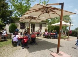 Resturant of Pietra Serena's farm