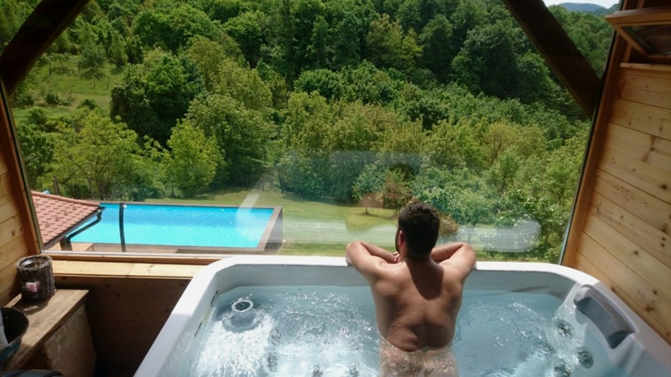 Holiday Home Enchanting Hilll - spa zone