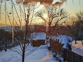 Holiday Home Enchanting Hilll - winter time