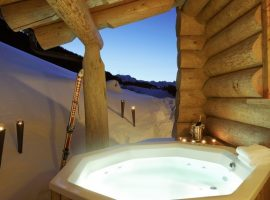 Romantic chalets in the Alpine pearl ofWerfenweng