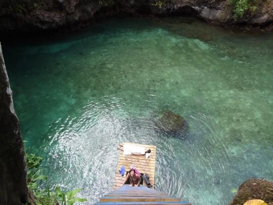 To Sua Ocean ditch, Samoa