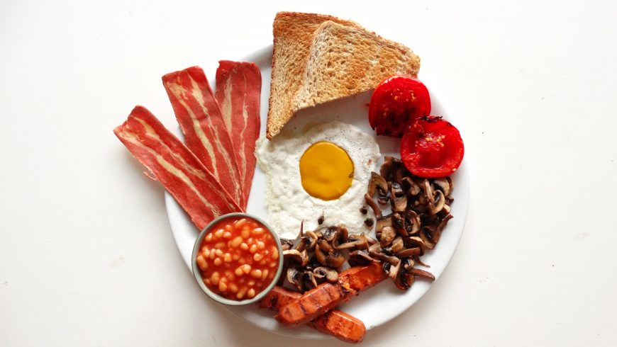 Full english vegan breakfast