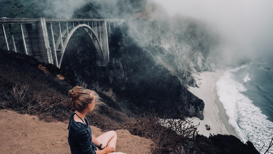 Bixby Creek Bridge, Monterey, United States