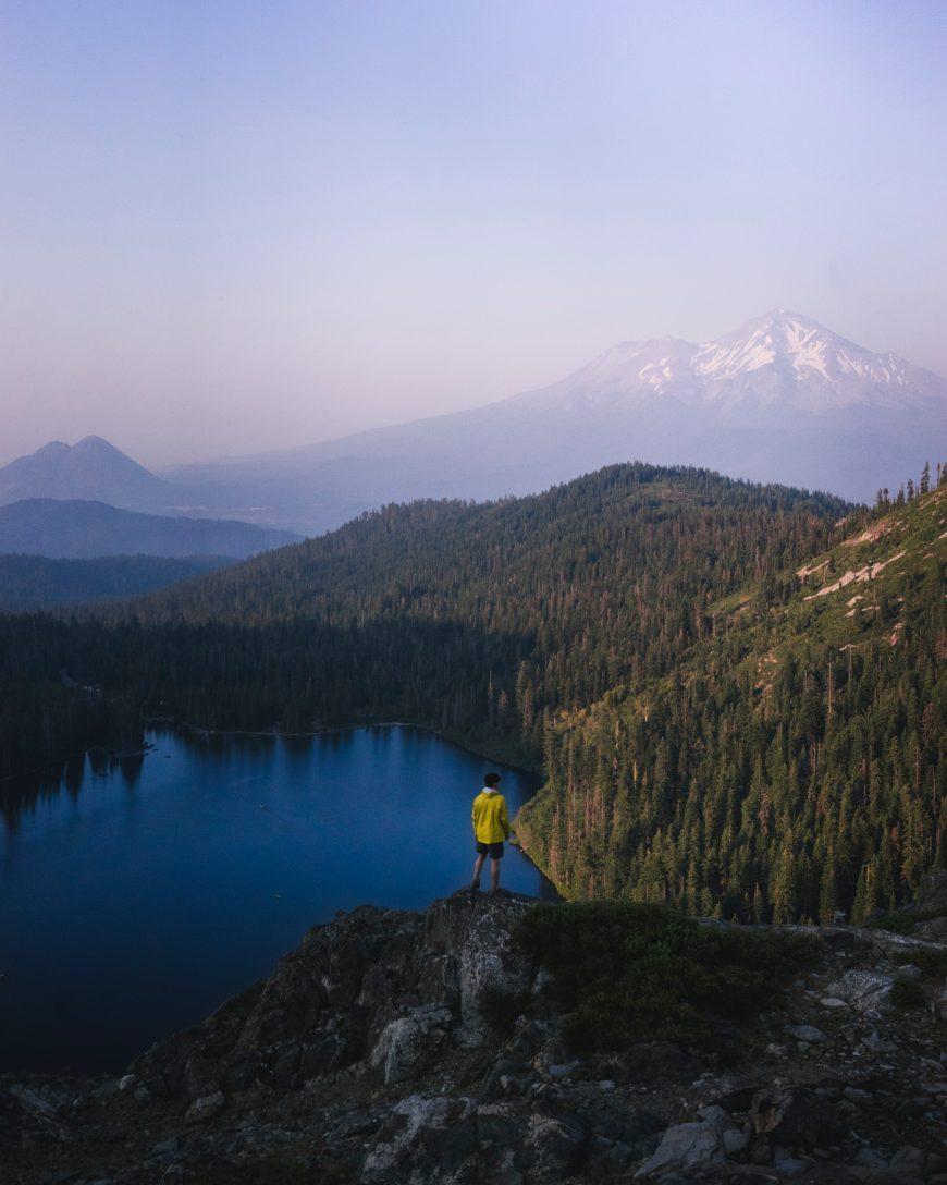 Mount Shasta, hiking in California