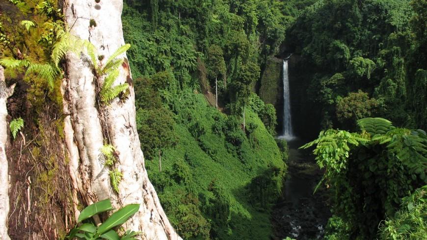 Sopo'aga Waterfall, Samoa island