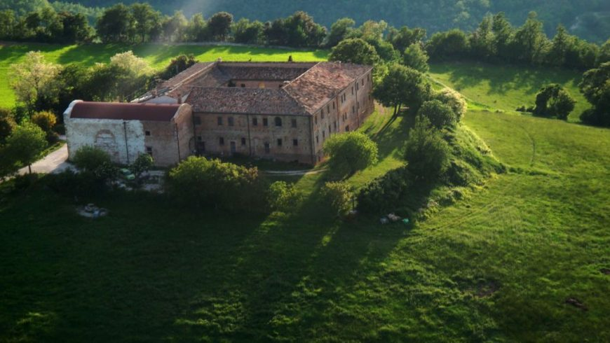 panorama of Giromoloni Organic Farm Stay