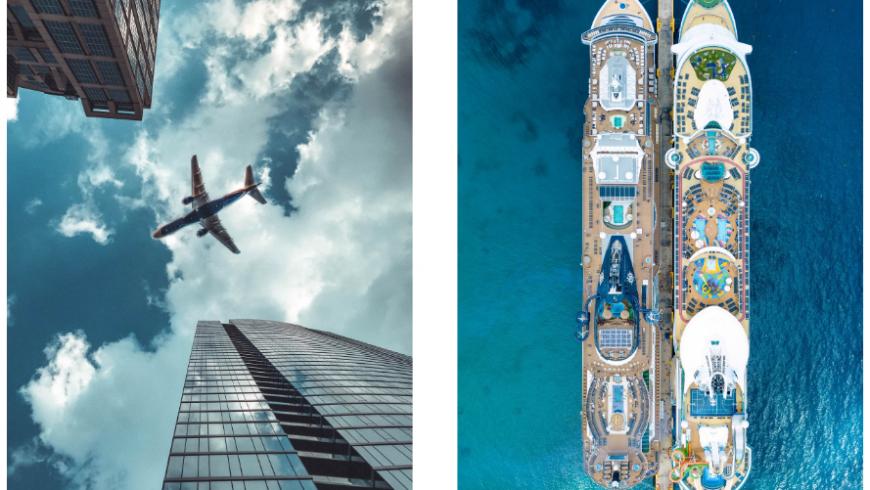 Air plane and cruise