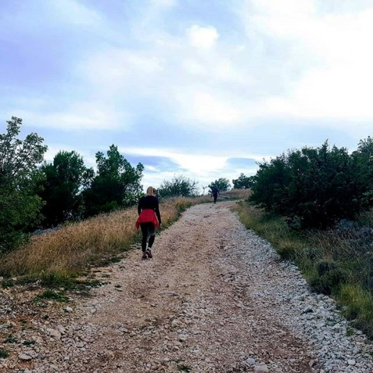 Vineyard eco villa Dalmatia - hiking trails with best views