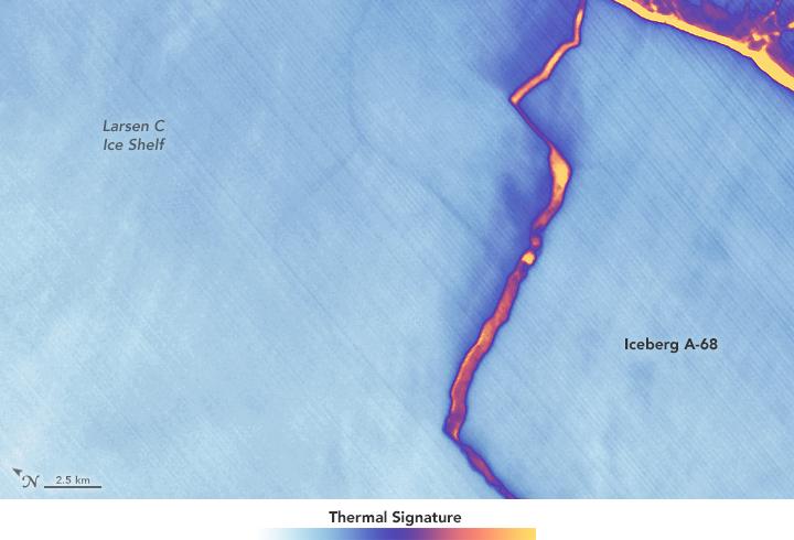 map iceberg