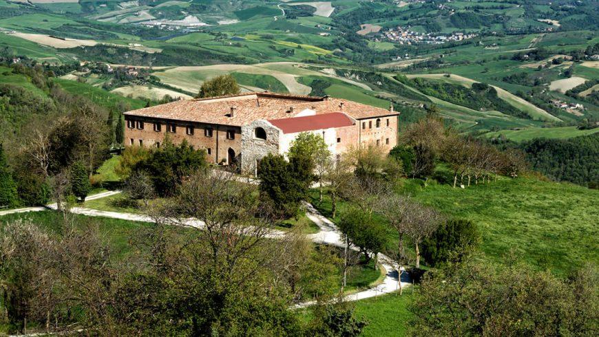 view of Girolomoni agritourism agritourism