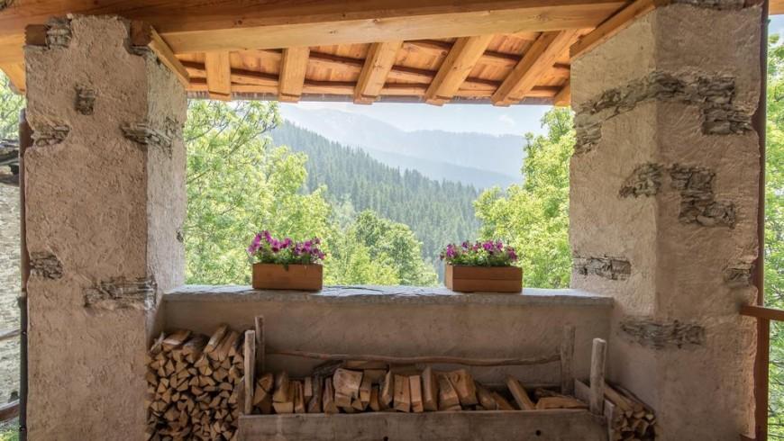 sagna rotonda, an eco-friendly accommodation in Valle Maira, Italian Alps