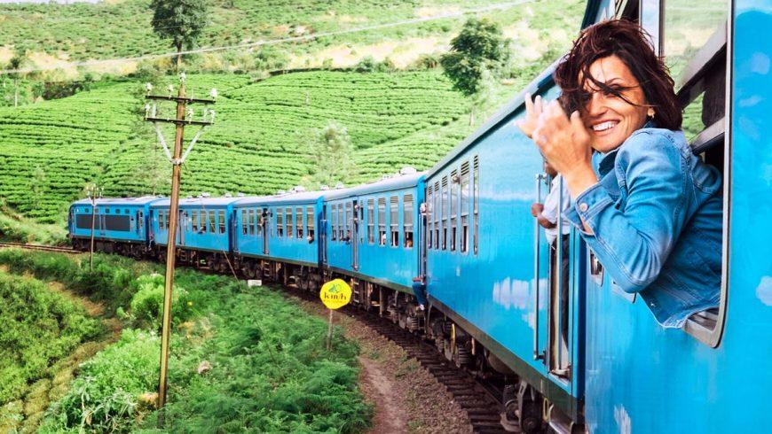 Train travel Green tourism