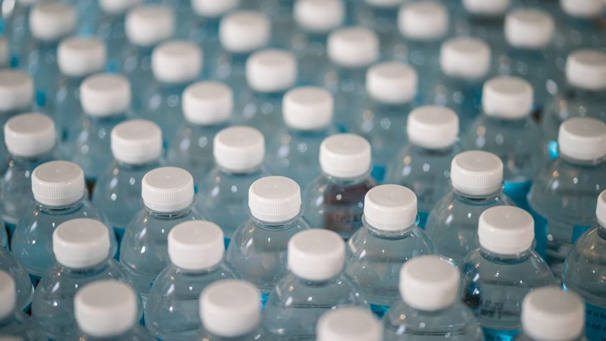 plastic bottles, to avoid to be more sustainable