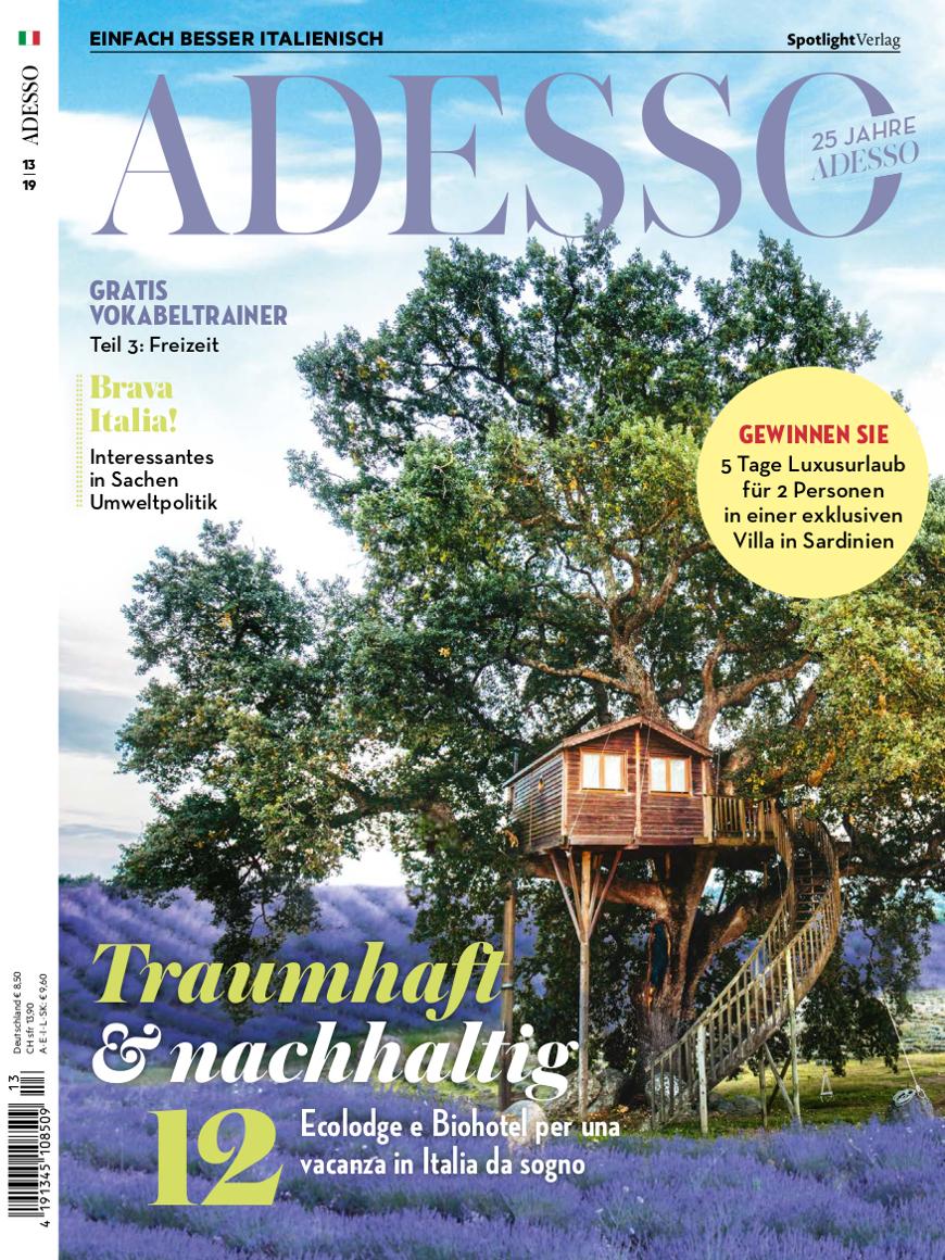 cover adesso Magazine