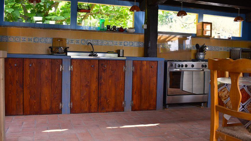 Kitchen Podere di Maggio