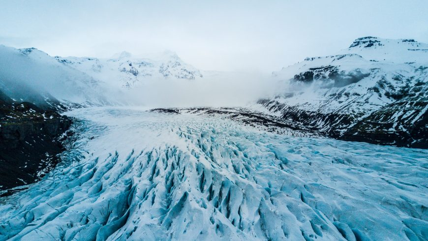 greenhouse gaes effects on glaciers