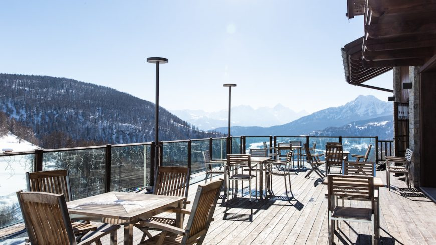 Resort's terrace