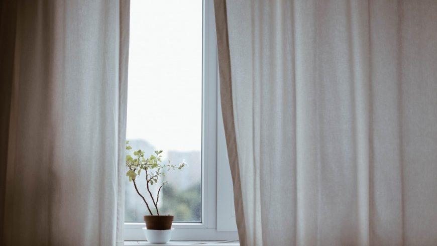 open curtains, Winterization Tips