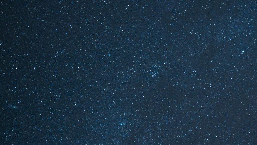valentine's day under a sky full of stars