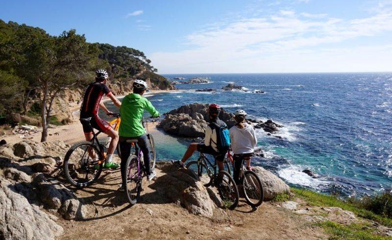 Bike itinerary across Girona
