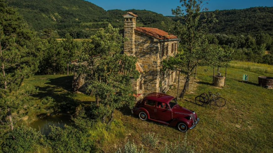 An off-grid ecobnb among the wonders of Istria