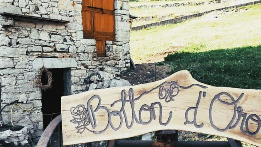 b&b counting on creative recycling and sustainability in Valle Imagna