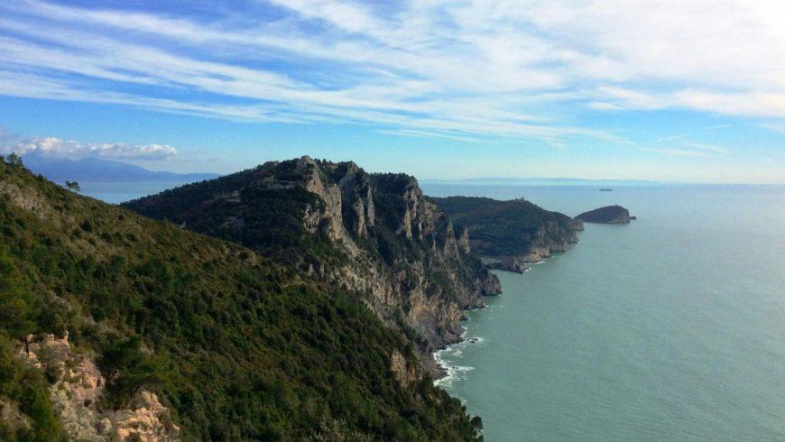 Path from Campiglia to Portovenere, Liguria