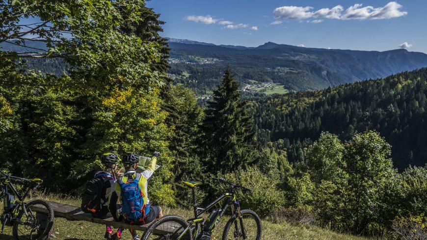 Lavarone by e-bike, Trentino