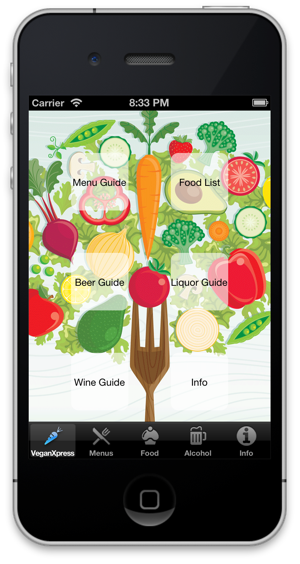 VeganXpress - travel app for vegans