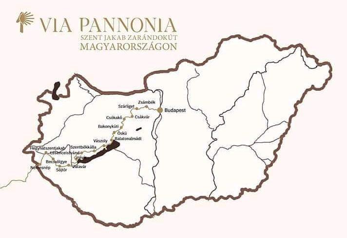 Via-Pannonia map