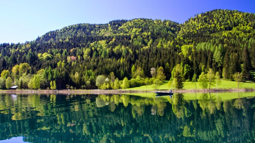 Shades of Lake Weissensee, Alpine Pearls