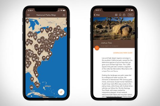National Parks By Chimani app