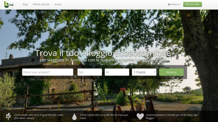 Ecobnb, Home