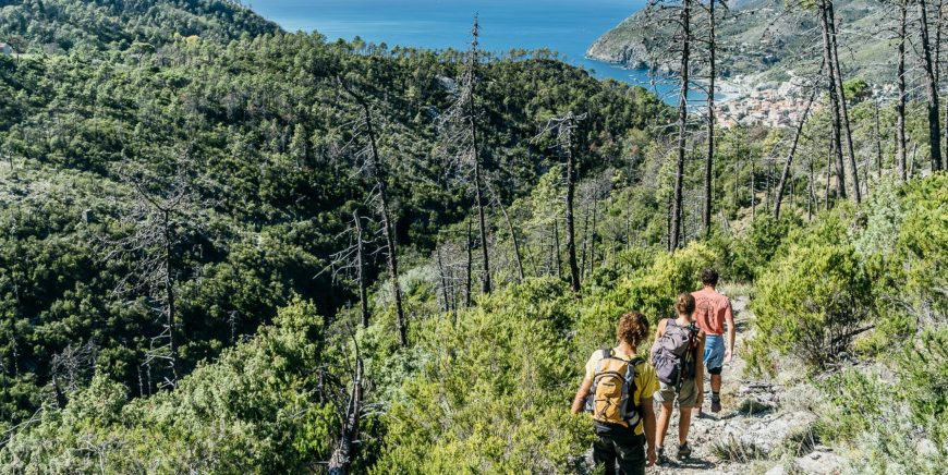 Path from Levanto to Monterosso