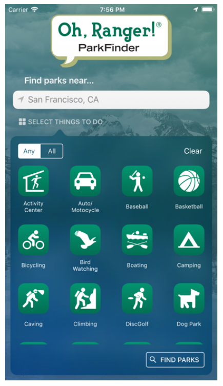 park ranger app