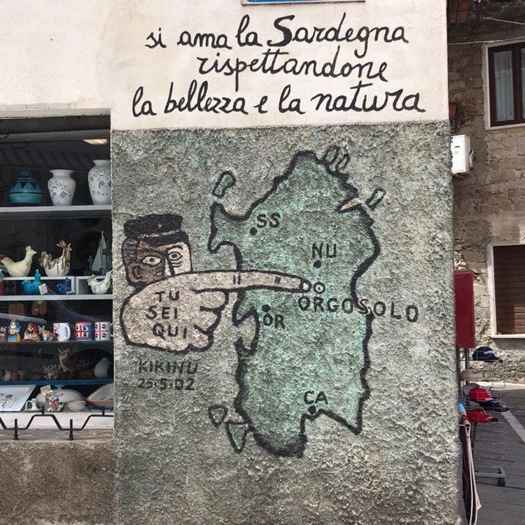 The Murals of Orgosolo, Sardinian Hinterland
