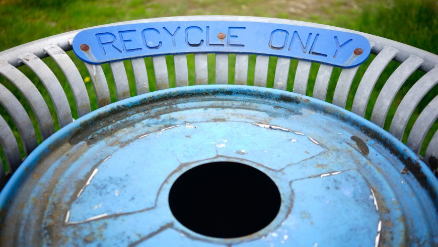 recycling is an eco-friendly choice