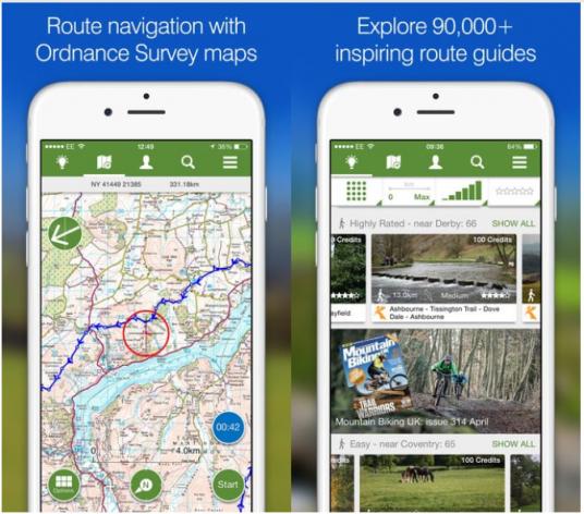 View Ranger's app