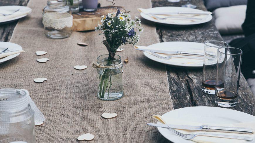 weedding table