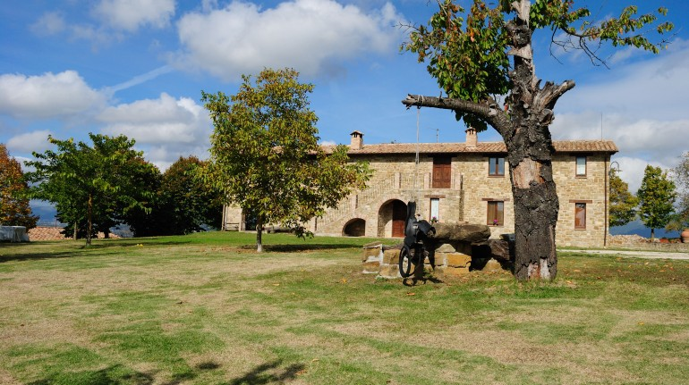 organic farm in Umbria