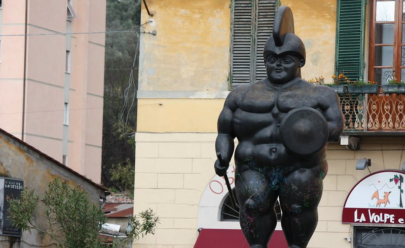 Il Guerriero by Botero