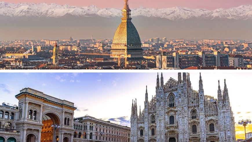 Turin-Milan by bycicle